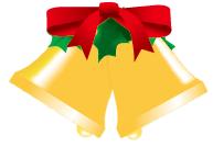 クリスマスベルイラスト