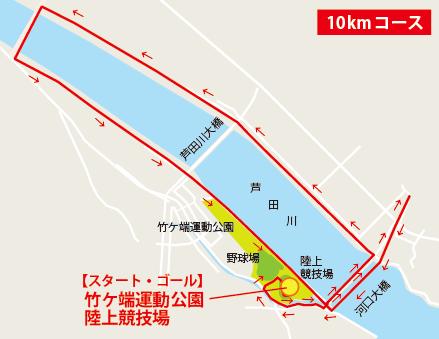 10km地図