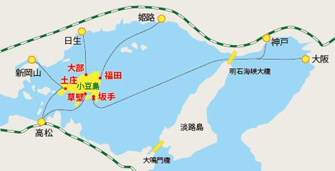 小豆島フェリー航路
