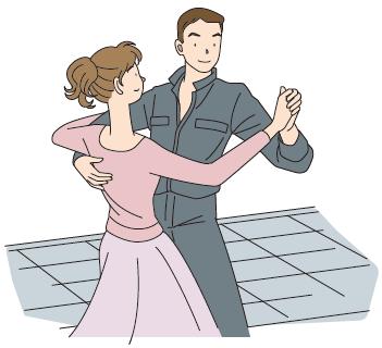 ダンスホールド