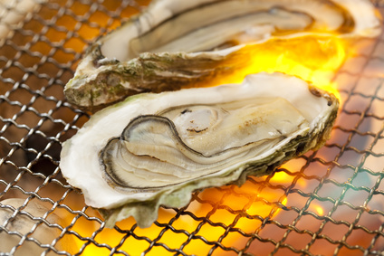 焼き牡蠣メイン