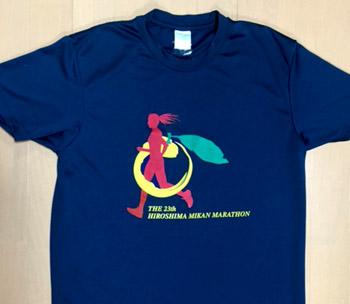 みかんマラソンTシャツ
