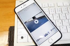 iPhone,と動画メイン