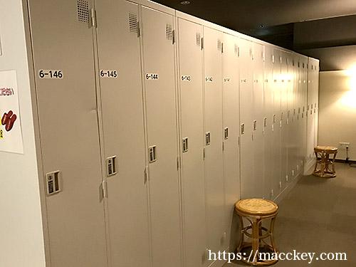 ロッカールーム2